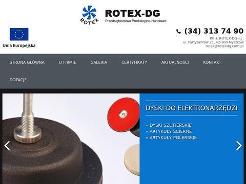 Malowanie przemysłowe Rotex-DG