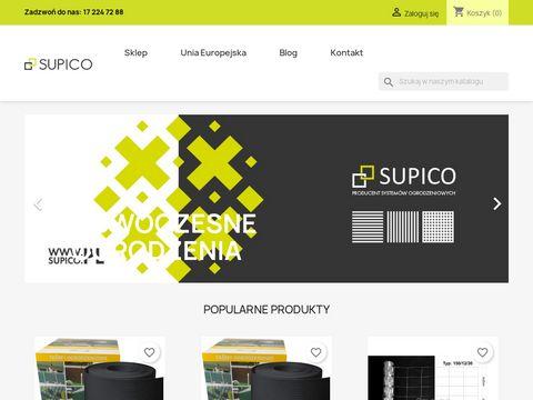 Supico - producent systemów ogrodzeniowych
