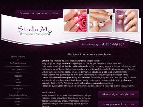 Studio M - stylizacja paznokci
