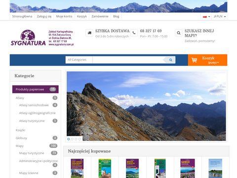 Sygnatura.com.pl - Gorce mapa