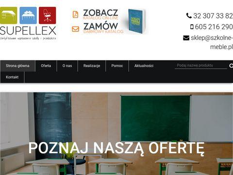 Meble szkolne i przedszkolne - Supellex