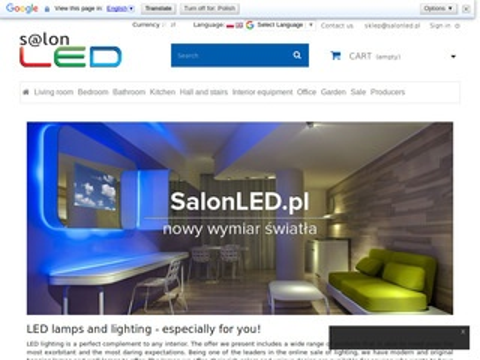 Lampy LED profile LED, kinkiety LED - SalonLED