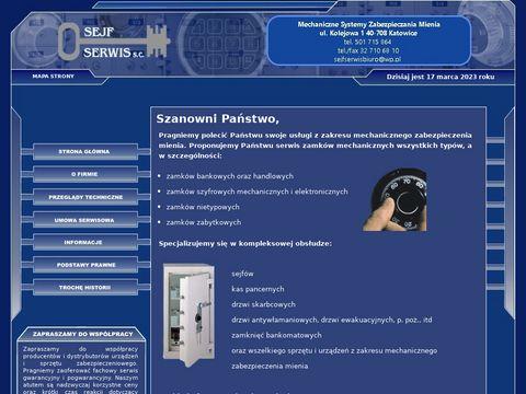 Serwis pasywnych zabezpieczeń mechanicznych