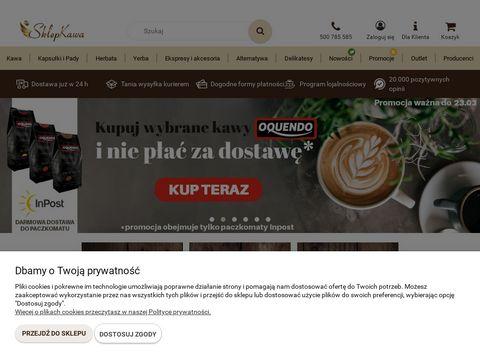 Sklepkawa.pl - internetowy sklep z kawą