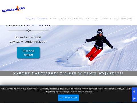 Skimaniak - szkoła narciarska