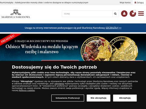 Sklep kolekcjonerski SkarbnicaNarodowa.pl