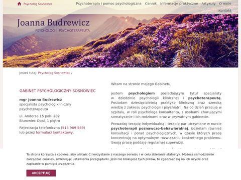 Psychoterapeuta Sosnowiec