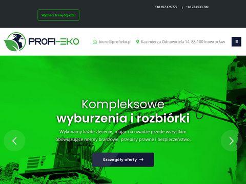 Profieko.pl rekultywacja wysypisk Toruń