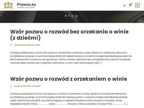 Adwokat Lublin - porady, zastępstwo, pisma