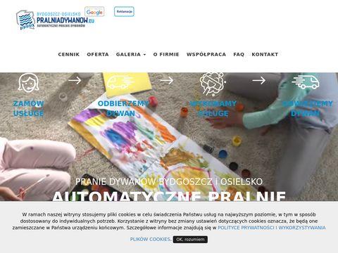 Pralniadywanow.eu - czyszczenie dywanów Świecie