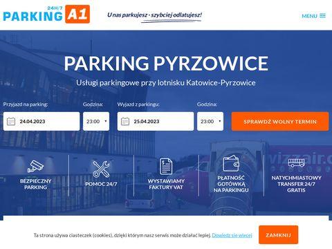 Parking Pyrzowice Katowice