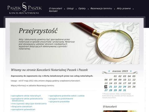 Notariusz Katowice - Paszek i Paszek