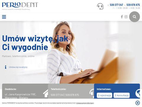 Periodent.com.pl - implanty Warszawa