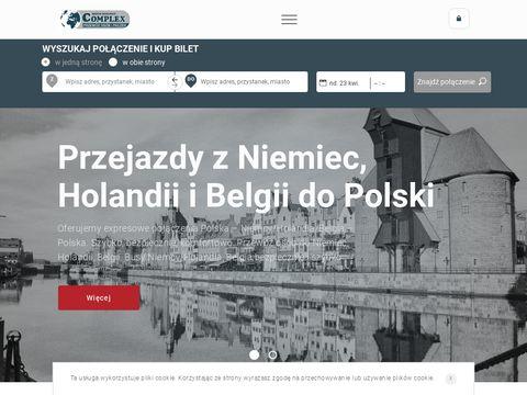 Przewozy osób Niemcy-Holandiia-Polska busy przewóz