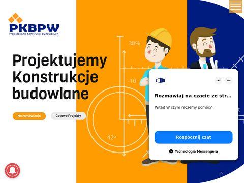 Pkbpw.pl - projektowanie konstrukcji stalowych