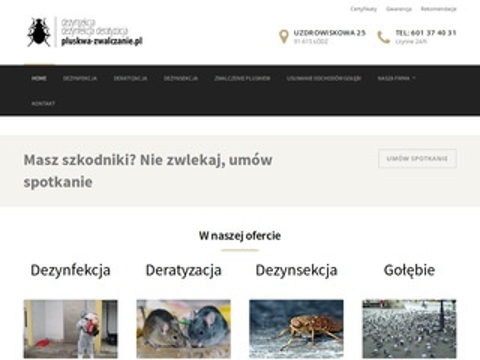Pluskwa-zwalczanie.pl - dezynfekcja po zgonie