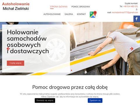 Pomoc Drogowa Autoholowanie Michał Zieliński