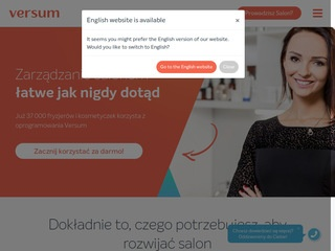 Versum.pl - zarządzanie salonem kosmetycznym