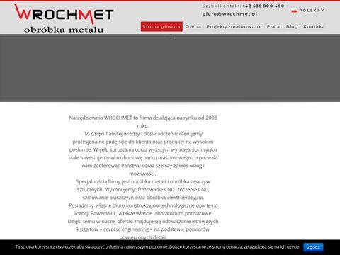 Wrochmet.pl frezowanie CNC