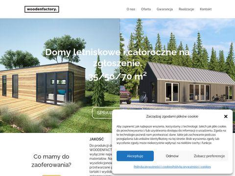 Drewniane fotele ogrodowe