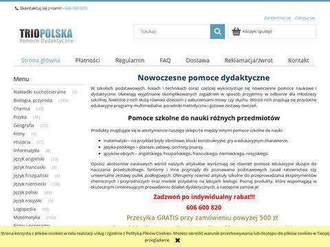 Trio Polska pomoce dydaktyczne dla szkół
