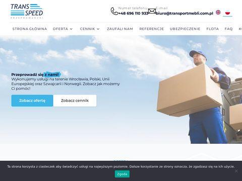 Tanie przeprowadzki Wrocław - transportmebli.com