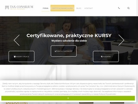 Usługi księgowe w mieście Kraków -Tax Consilium