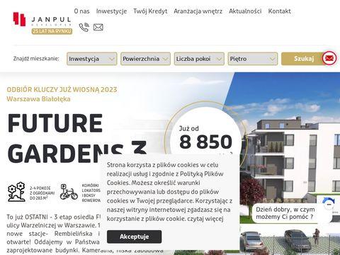 Janpul deweloper - nowe mieszkania na sprzedaż