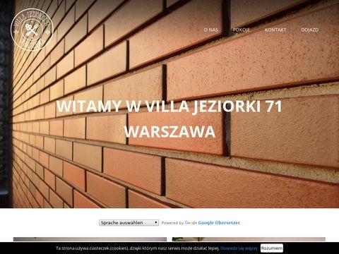 Jeziorki 71 - tani hotel Warszawa Ursynów
