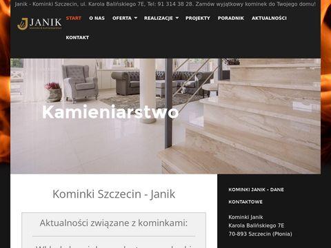 Kominki Janik - usługi kamieniarskie w Szczecinie