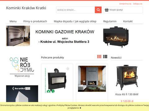 Kominki-krakow-kratki.pl - montaż