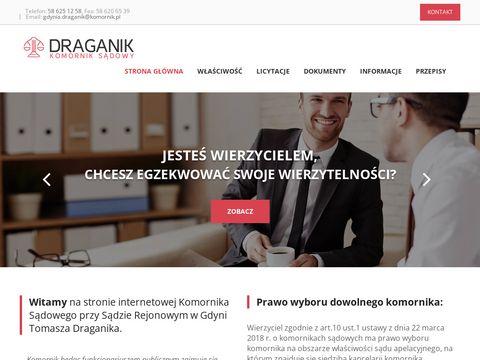 Komornikdraganik.pl - skuteczny komornik Gdynia