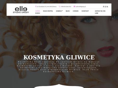 Elle przedłużanie rzęs Gliwice