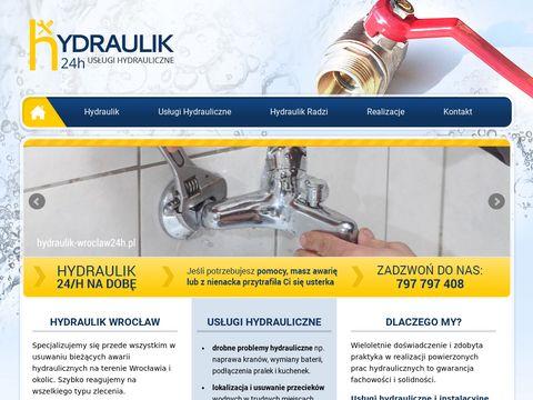 Hydraulik-wroclaw24h.pl usuwanie awarii