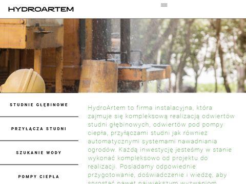 Hydroartem.pl szukanie wody Bielsko