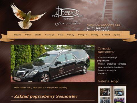 Heban zakład pogrzebowy Sosnowiec