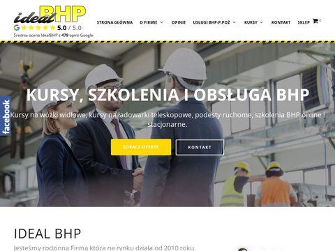 Ideal BHP - usługi ppoż