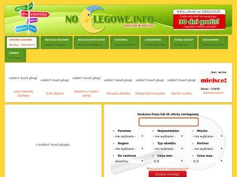 Noclegowe.info - noclegi na wakacje