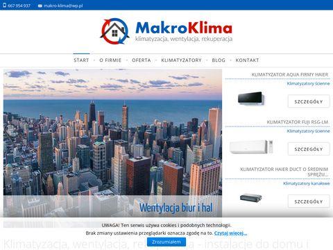 Klimatyzacja w mieszkaniu - makroklima.pl