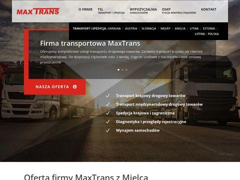 Transport krajowy towarów