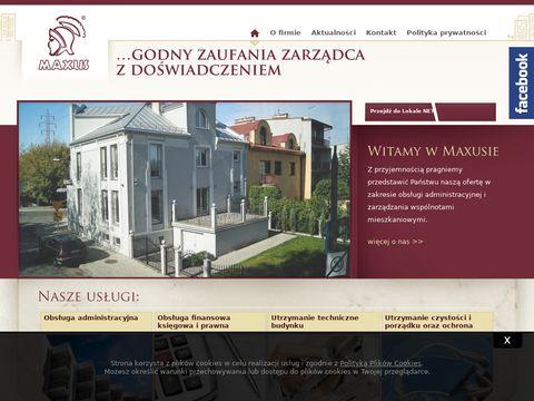 Administracja nieruchomościami Kraków - Maxus