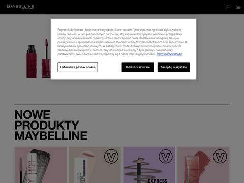 Kosmetyki do makijażu Maybelline