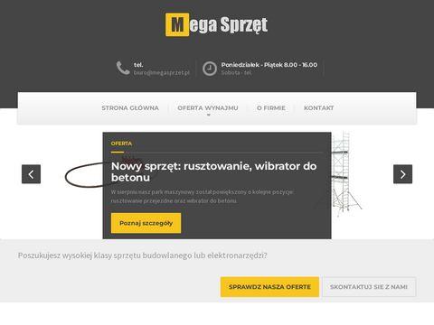 Megasprzet.pl wynajem maszyn budowlanych Wrocław
