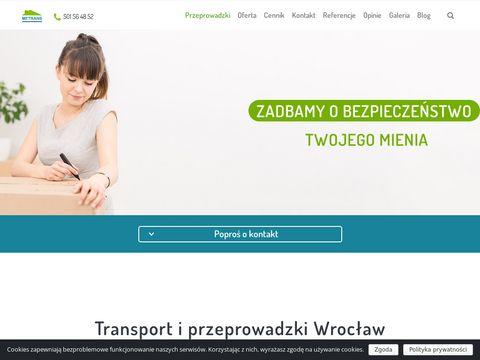 Metrans - przeprowadzki