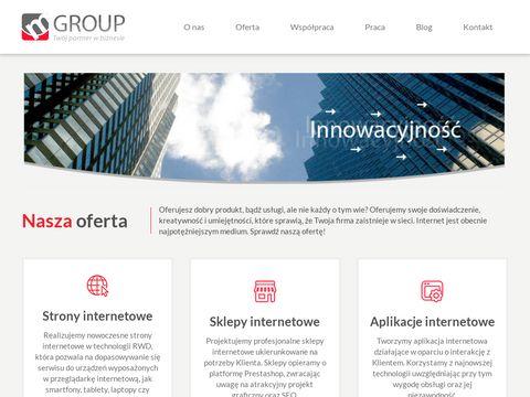 Mgroup.pl - pozyskiwanie leadów