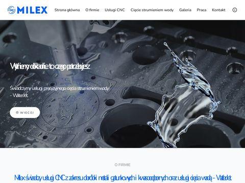 Milex - kompleksowe usługi CNC