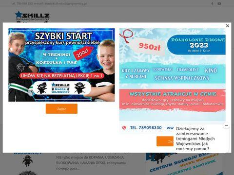 Szkoła sztuk walki dla dzieci