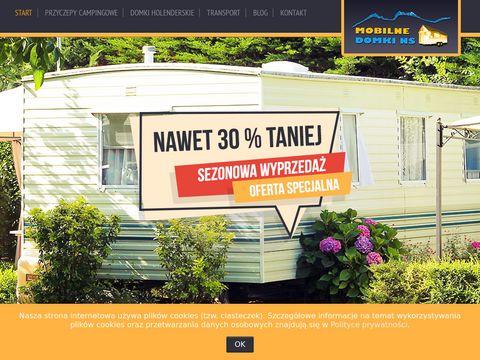 Mobilne Domki NS - używane domki holenderskie