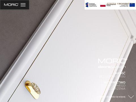 Producent drzwi drewnianych Moric oferuje serwis
