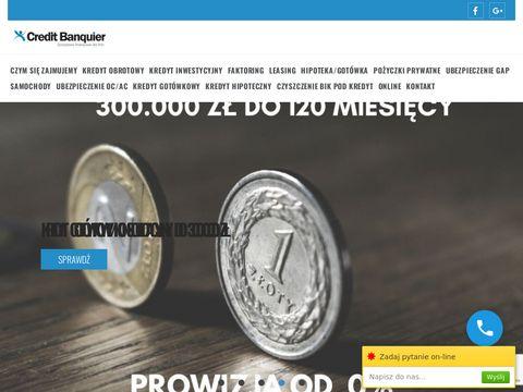 Najlepsze kredyty inwestycyjne dla firm